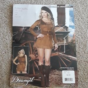 Davy Crockett womens costume